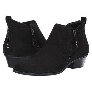 Paul Green Travis Suede Leather Studded Bootie